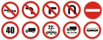 sinalização regulamentação